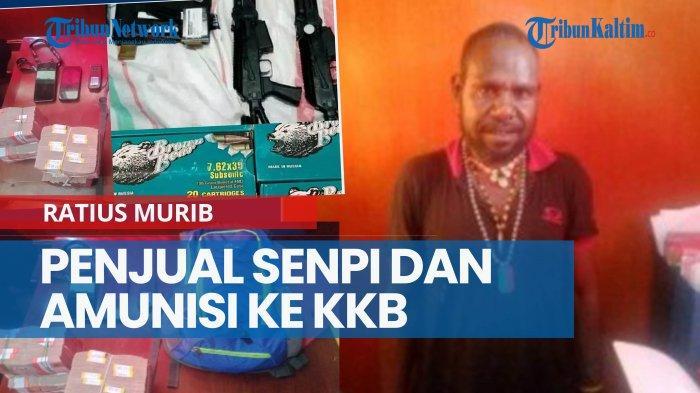 Satgas Nemangkawi Tangkap Ratius, Terduga Jaringan Penjual Senpi dan Amunisi ke KKB Puncak Jaya