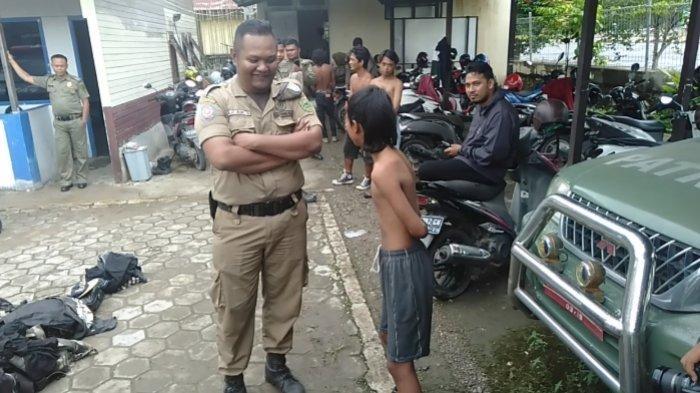 Anak Bawah Umur Terjaring Razia Anak Punk, Satpol PP Berau Kalimantan Timur Akan Panggil Orangtuanya