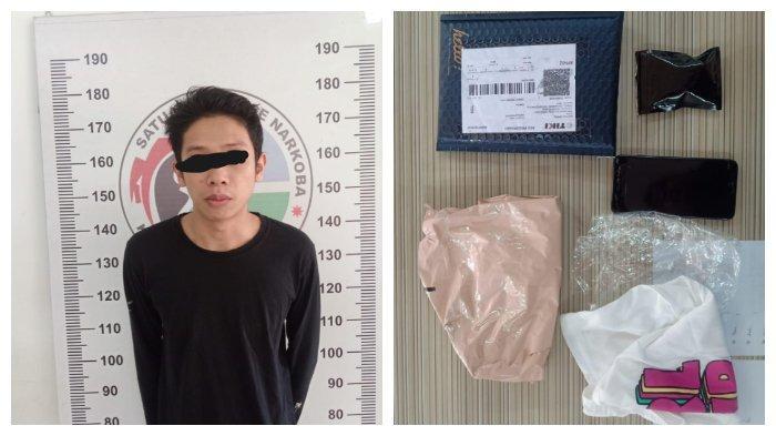Seorang Pemuda di Tenggarong Diamankan Polisi, Miliki Tembakau Sintetis Seberat 16,18 Gram