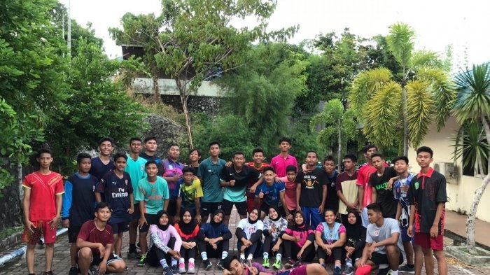 Persiapan PON Papua 2020, Atlet Handball Balikpapan Jalani Latihan Secara Online Kala Pandemi Corona