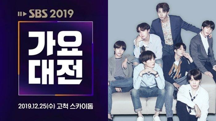 SBS Gayo Daejun 2019 25 Desember Bertepatan Hari Natal, Ada BTS, TXT, ITZY, GOT7, MAMAMOO, NCT dll