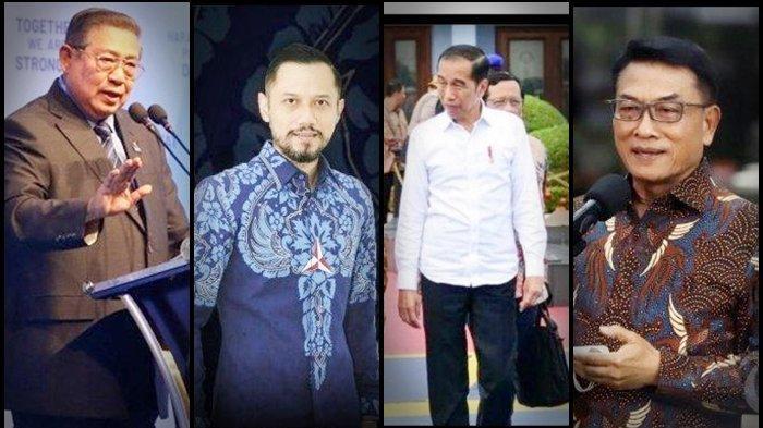 Andai Jokowi - SBY Sepakat, Moeldoko Bisa Didepak dari Kabinet, Pakar Bongkar Motif Rebut Demokrat