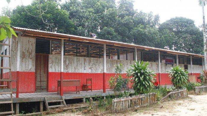 Memprihatinkan, Beginilah Kondisi Bangunan Sekolah di Ibu Kota Kaltim