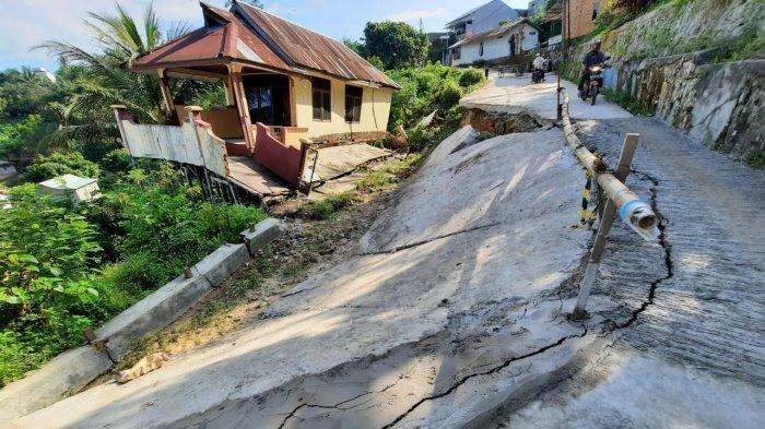 Jalan Ambles, Longsor di Tanah Merah Samarinda, Warga Tuding karena Aliran Air dan Kontur Tanah