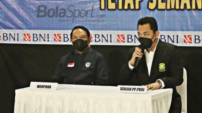 Sebelum Dilantik, Listyo Sigit Mundur sebagai Sekjen PBSI, Diganti Kapolda Metro Jaya, Fadil Imran