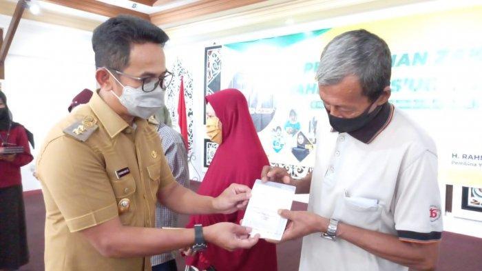 Yayasan Rahmad Masud Center Bagikan Zakat dan Infak Secara Online, 10 Ribu ATM Disebar