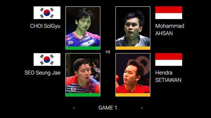 SEDANG BERLANGSUNG Final Hong Kong Open 2019, Live Streaming TV Online Ahsan/Hendra vs Wakil Korea