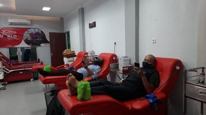 Update Stok Darah di Unit Donor Darah PMI Kota Samarinda, Pendonor Sepi