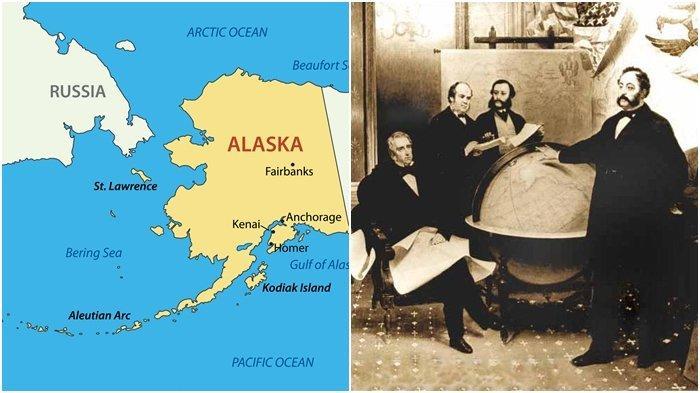 Sejarah 30 Maret, Daratan Alaska Milik Rusia Dibeli Amerika Serikat Rp 99 M, Sempat Tuai Protes