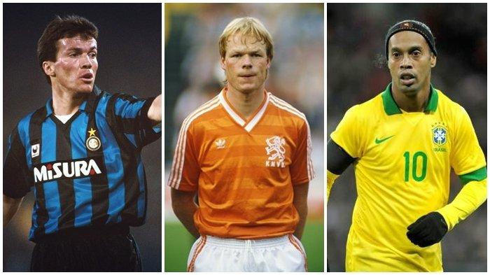 SEJARAH HARI INI 21 Maret, Kelahiran Lothar Matthaus, Koeman, Ronaldinho, hingga Antoine Griezmann