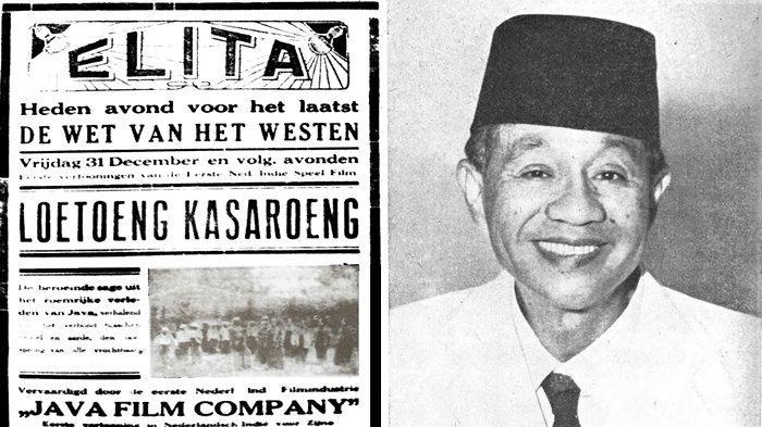 SEJARAH HARI INI 31 Desember 1926, Loetoeng Kasaroeng Film Indonesia Pertama Tayang di Bioskop