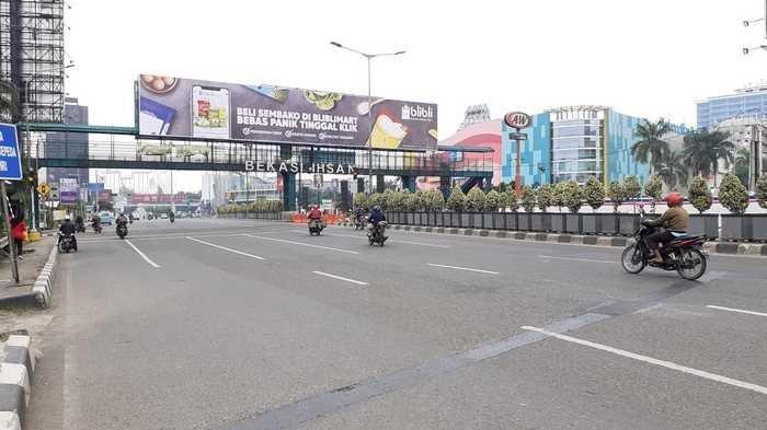 Hari Pertama PSBB, Pengendara Kendaraan Pribadi dari Bodetabek yang Melanggar Tak Bisa Masuk Jakarta