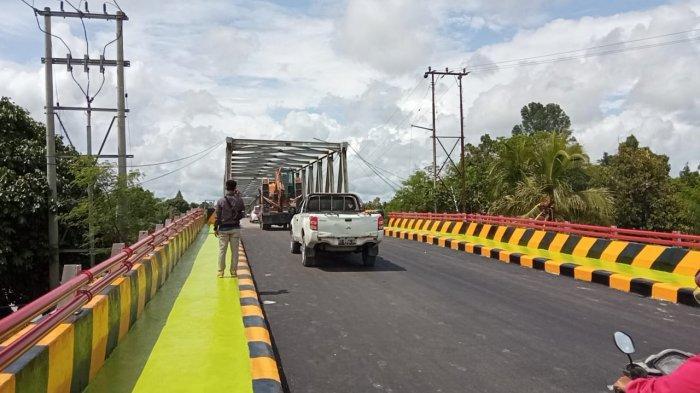 Kini Semua Kendaraan Bisa Lewati Jembatan Jelarai, BPJN Kaltara Sebut Tahan 50 Tahun