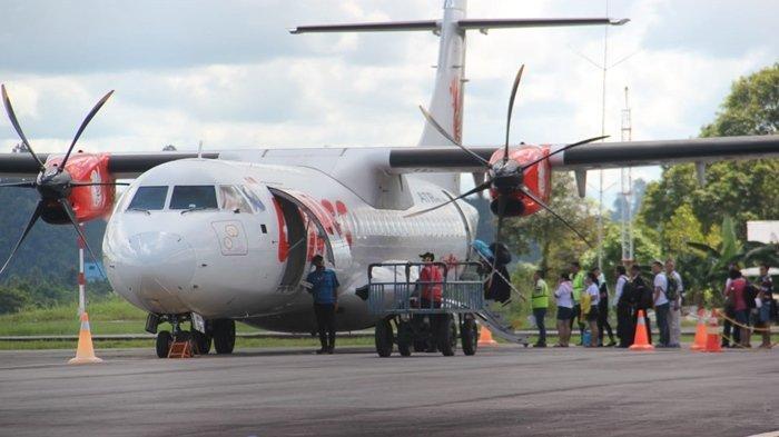Setahun Bandara Juwata Dominasi Jumlah Penumpang di Kaltara, Bandara Ibu Kota hanya di Urutan Ke-3