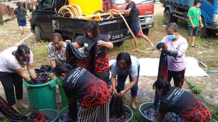 Pelatihan Batik di Desa Limbu Sedulun KTT, Diharapkan Bisa Dibuat Pakaian Lalu Dijual