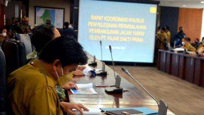 Pembangunan Jalan Lintas Provinsi di Tabang, Sekda Kukar Harapkan Dukungan dan Kesadaran Kolektif