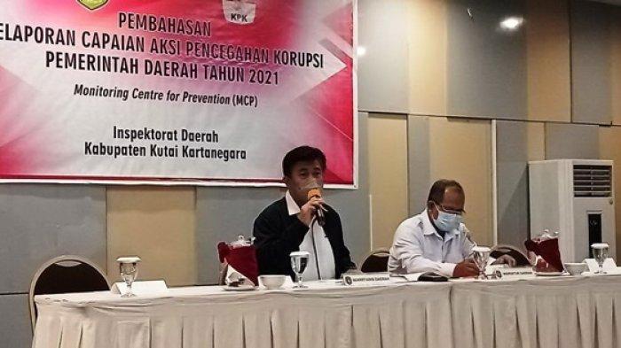 Pemkab Kukar Serius Cegah Korupsi, Dorong OPD Tuntaskan Input Data MCP