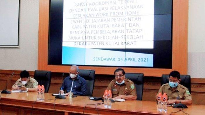 Pemkab Kutai Barat Evaluasi Kebijakan WFH dan Rencana PTM, Kehadiran Pegawai Harus 75 Persen