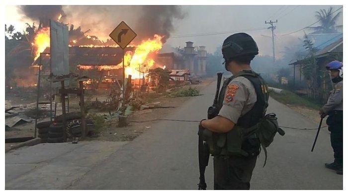 Siaga 1 Kerusuhan di Buton, Kepolisian Khawatir Timbul Lagi Kerusuhan, Ini Pasukan yang Diterjunkan