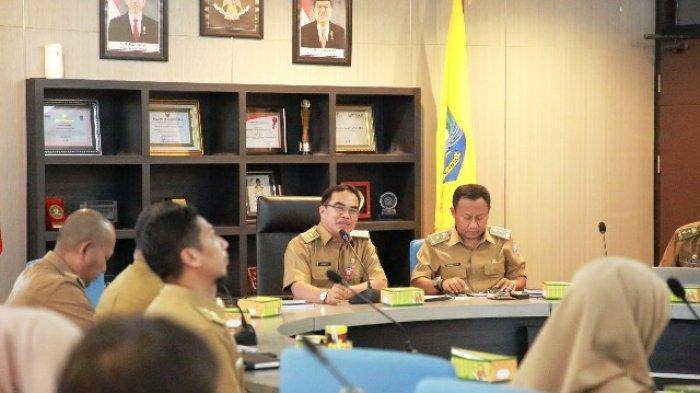 12 Kementerian Kunjungi Tanjung Selor, Sekprov Minta OPD Usulkan Sarana Pendukung KBM