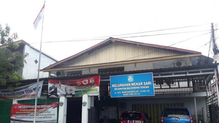 Kantor Kelurahan Mekarsari di Balikpapan Masih Mengontrak Ruko yang cukup memprihatinkan