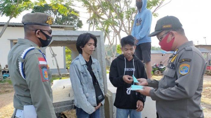 Kalangan Remaja Paling 'Bandel' tak Pakai Masker di Tarakan, Beri Sanksi Sosial Sebagai Efek Jera
