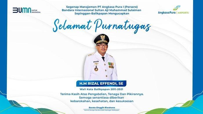 Manajemen PT Angkasa Pura 1 Ucapkan Selamat Purnatugas kepada H.M. Rizal Effendi, S.E.