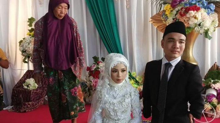 Penyandang Disabilitas Itu Akhirnya Menikah, Pengantin Perempuan Suka Video Lucu Suaminya