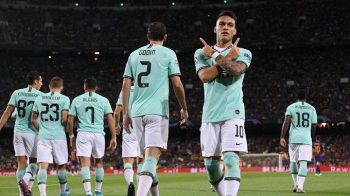 Gol Cepat Kompatriot Lionel Messi, Bikin Barcelona Tertinggal, Lautaro Martinez Bawa Inter Unggul