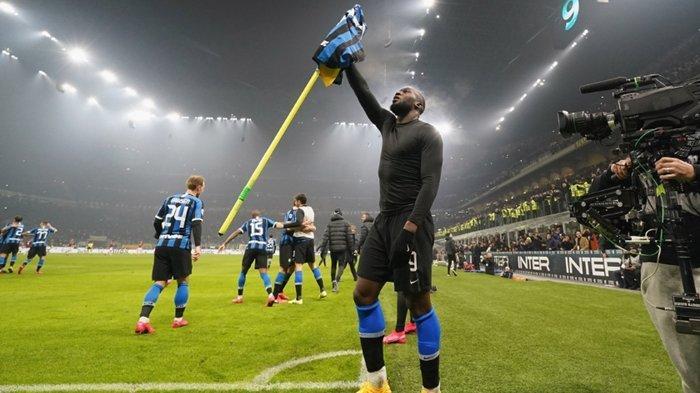 Gol ke Gawang AC Milan Bikin Romelu Lukaku Sejajar dengan Zlatan Ibrahimovic dan Legenda Inter Milan