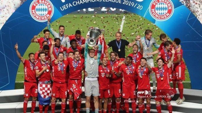 Fakta Menarik Usai Bayern Munchen Juara Liga Champions, Susul Liverpool dan Sapu Bersih Kemenangan