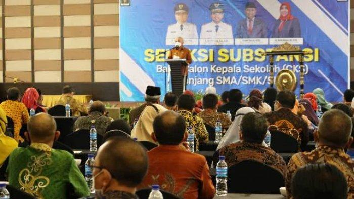 210 Guru Ikuti Seleksi Substansi Bakal Calon Kepala SMA/SMK/SLB se-Kaltim
