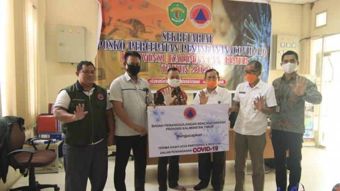 Satgas Bencana BUMN Kaltim Berikan 2100 Paket Sembako kepada Warga Miskin Terdampak Covid-19