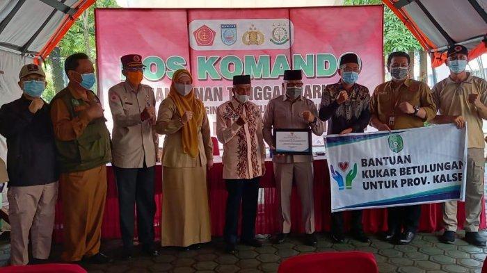 Program bantuan sembako yang dikirim Pemerintah Kabupaten Kutai Kartanegara (Kukar) ke korban banjir di Kabupaten Banjar, Provinsi Kalimantan Selatan (Kalsel) akhirnya telah sampai.