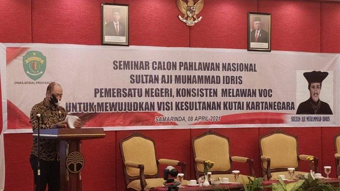 Dinas Sosial Kaltim Gelar Seminar Calon Pahlawan Nasional Sultan Aji Muhammad Idris, Ini Tujuannya