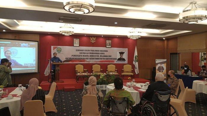 Hadiri Seminar Calon Pahlawan Nasional Sultan Aji Muhammad Idris, Berikut Pesan Wagub Kaltim