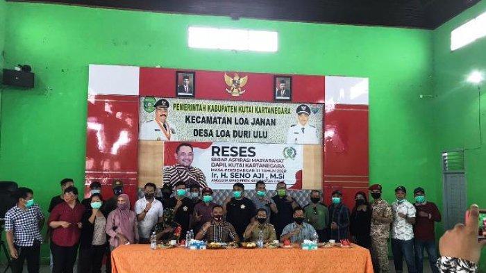 Reses Anggota DPRD Kaltim, Seno Aji Mendapat Seabreg Keluhan dari Warga Kutai Kartanegara