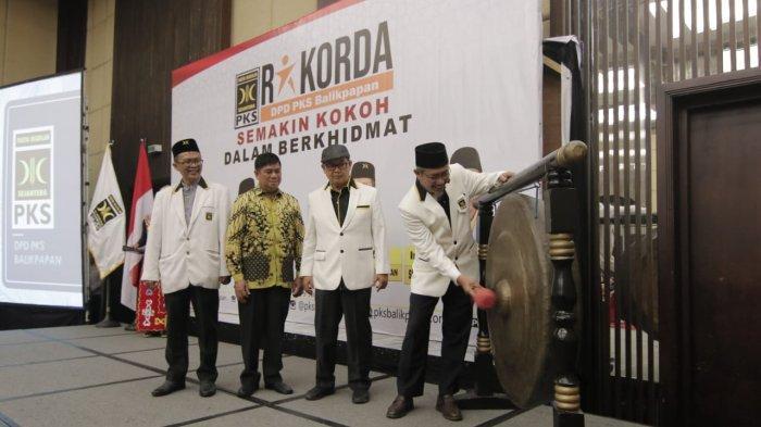 PKS Gelar Rakorda, Sinergikan dengan Penjaringan Calon Pilkada Balikpapan, Komunikasi Semua Kandidat