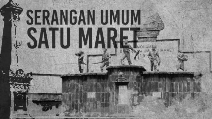 Hari Ini pada 70 Tahun Lalu, Terjadi Serangan Umum 1 Maret
