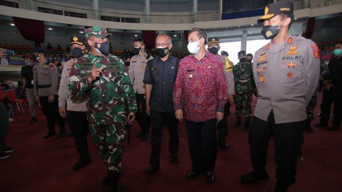 Serbuan Vaksin di Balikpapan, TNI-Polri Siapkan 5.000 Dosis