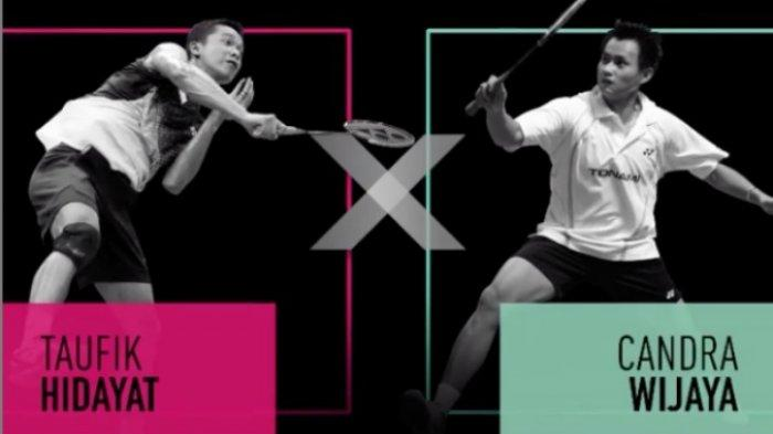 SERU Live Streaming Yonex Mix and Match Tim Taufik Hidayat vs Candra Wijaya, Minions - FajRi Dipisah