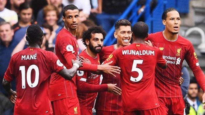 Rekap dan Klasemen Liga Inggris - Liverpool 5 Kali Kemenangan Lagi Bakal Kunci Gelar Juara Musim Ini