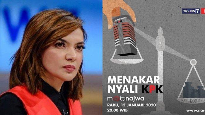 Setelah ILC TV One, Kini Giliran Mata Najwa Bahas Isu KPK vs PDIP, Tonton Live Streaming Trans 7