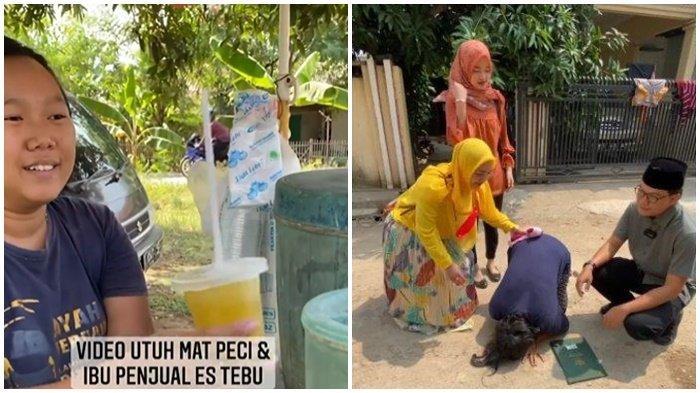 Kisah Ibu Penjual Es Tebu, Setelah Viral Kini Punya Rumah Hasil Donasi Netizen