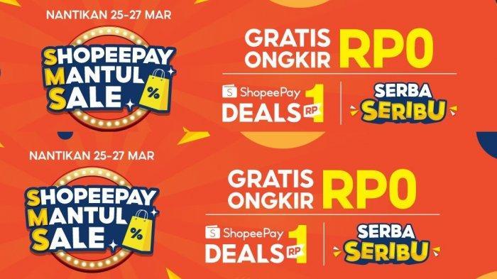 Dukung Gaya Hidup Modern Masyarakat Indonesia, ShopeePay Mantul Sale Sediakan Promo Menarik