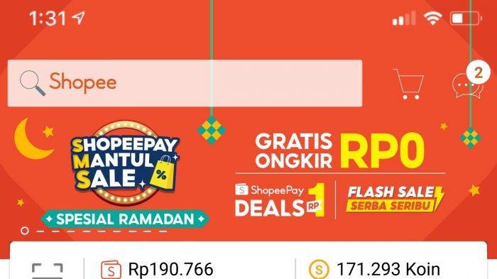 Momen Gajian di Tengah Ramadan, ShopeePay Mantul Sale Gebrak dengan Promo Rp 1 hingga Gratis Ongkir