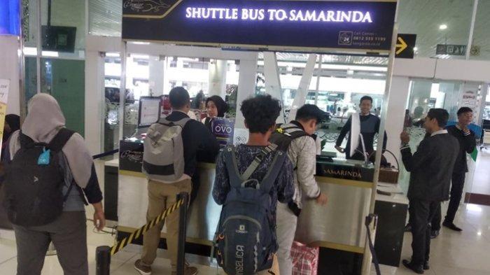 Shuttle bus Kangaroo di Balikpapan