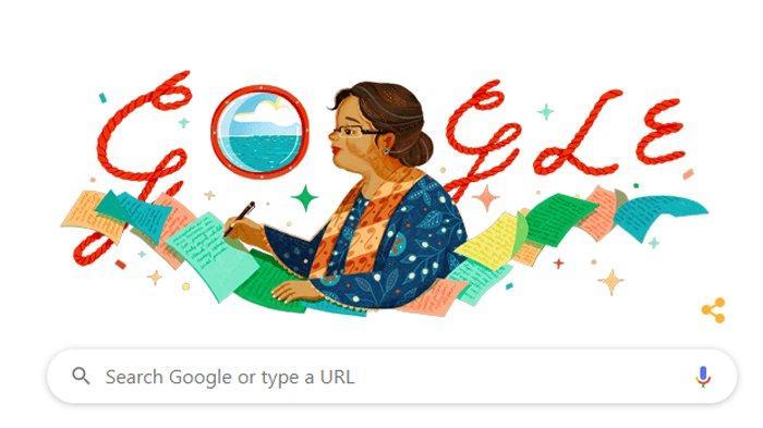 Siapakah NH Dini? Perempuan Berkacamata yang jadi Tampilan Google Doodle Hari Ini