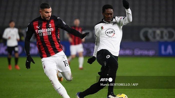 SERU! Jadwal Siaran Langsung Liga Italia Malam Ini: Spezia vs AC Milan, Live TV Online
