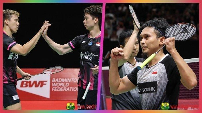Live TVRI, Jadwal Bulutangkis Olimpiade Tokyo 2021: Ahsan/Hendra dan Marcus/Kevin Hadapi Lawan Berat